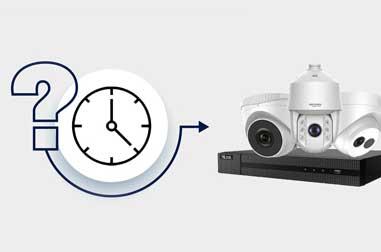 دوربین مداربسته تا چند روز ضبط می کند؟