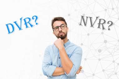 تفاوت NVR و DVR چیست و کدام بهتر است ؟